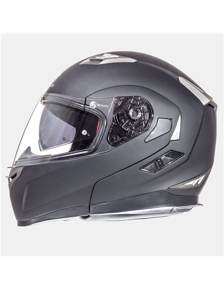 Casco mt flux solid negro-mate - 0460706193(1)#NEGRO-MATE