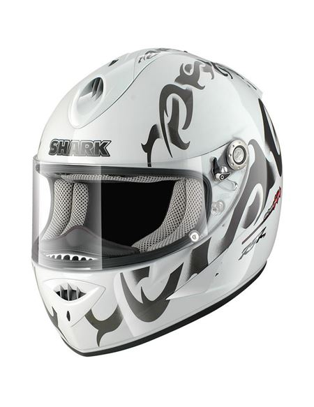 Casco shark rsr2 absolute blanco - SHARK RSR2-ABSOLUTE-BLANCO