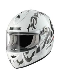 Casco shark rsr2 absolute blanco