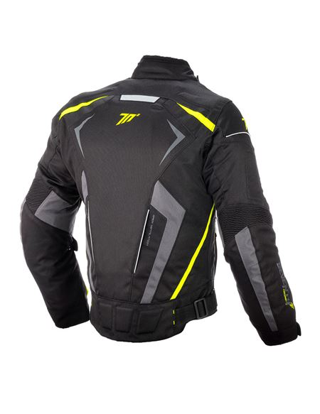Chaqueta seventy sd-jr55 racing negra-fluor - SD-JR55-YELLOW