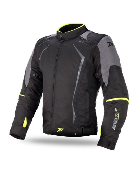 Chaqueta seventy sd-jr47 racing negra-fluor - SD-JR47-YELLOW