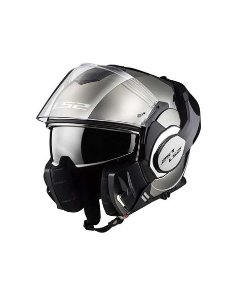Casco ls2 ff399 valiant chrome - 0460709199#CROMADO(1)