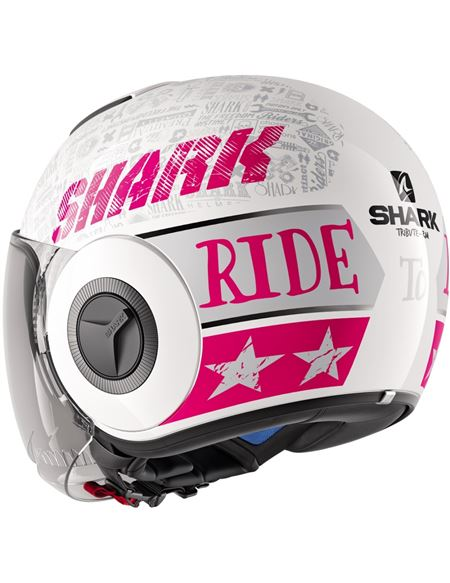 Casco shark nano tribute rm blanco-rojo - 0460709489#BLANCO-ROSA(1)