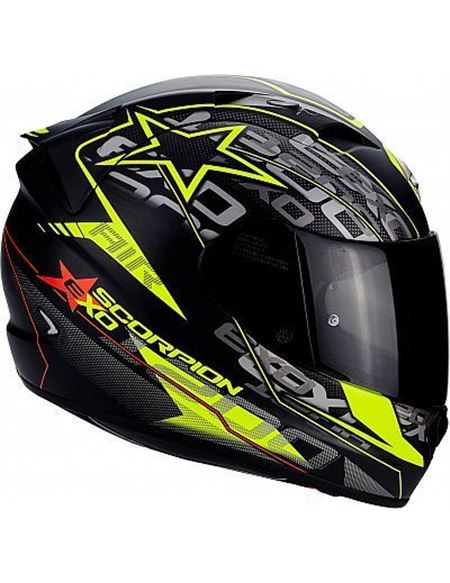 Casco scorpion exo-1200 air solis negro-amarillo - 0460709314#NEGRO-AMARILLO(1)
