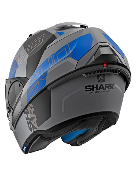 Casco shark evo-one 2 slasher negro-azul-gris - 0460709981#NEGRO-AZUL-GRIS(1)