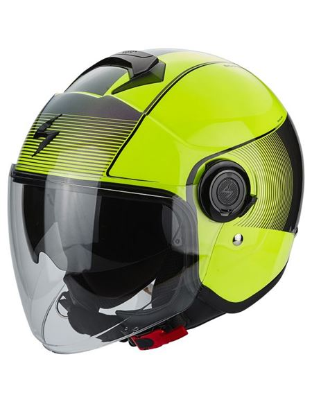 Casco scorpion exo-city wind amarillo fluor - 0460710279