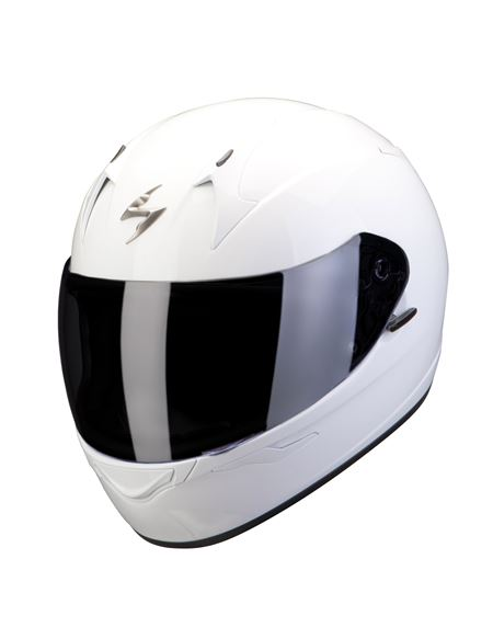 Casco scorpion exo-390 solid blanco - 0460710228