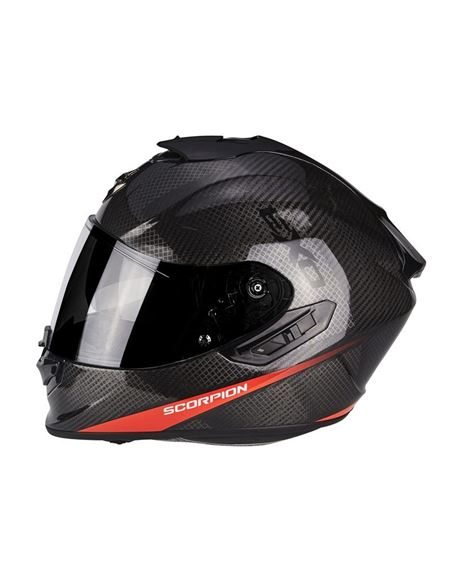 Casco exo-1400 air carbon pure rojo - SCORPION EXO-1400 AIR CARBON PURE ROJO