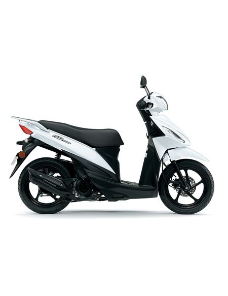 Suzuki address 113cc 2018 e4 blanco - UK110NML8_YUH_RIGHT1