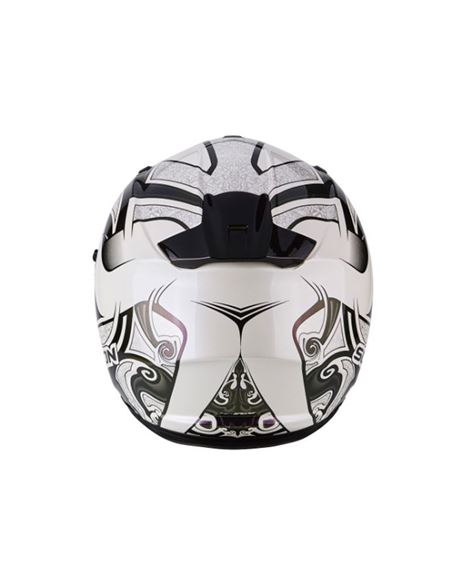 Casco scorpion exo-510 air arabesc cameleon blanco - 0460710298