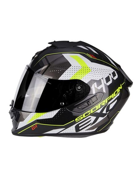 Casco exo-1400 air trika blanco-negro-amarillo - 0460710284 (3)