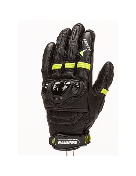 Guantes rainers road negro-fluor - ROAD-F_SMALL_ROAD-F-01-01
