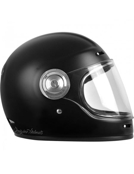 Casco origine vega classic negro mate - CASCO-ORIGINE-VEGA-STRIPE-BLACK
