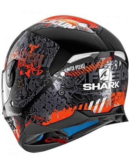 Casco shark skwal2 switch rider 2 - 0460712077 (1)