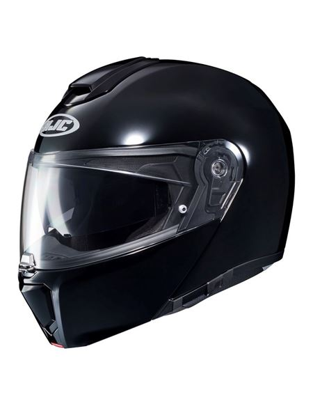Casco hjc rpha90 negro brillo - 0460712268 (1)