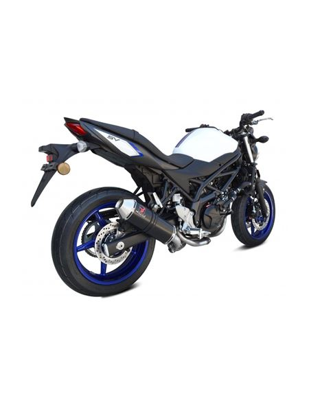 Escape ixrace new pure black sv650 2016-2018 - 0460712554#PURE.BLACK.SV650(1)