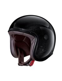 Casco caberg freeride carbon brillo