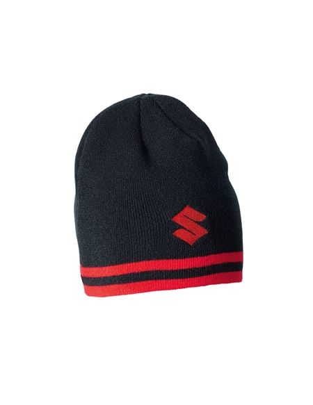 Gorro negro team suzuki - GORRO BLACK TEAM
