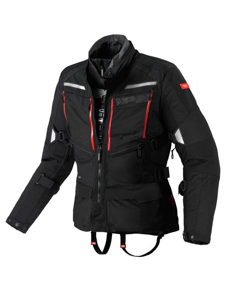 Chaqueta spidi 4season h2out negra - 0460713232