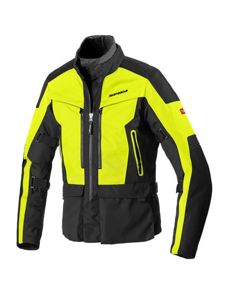 Chaqueta spidi voyager 4 h2out negro-fluor - 0460713235