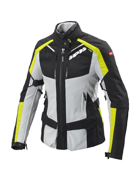 Chaqueta spidi 4season lady h2out gris-fluor - 0460713239