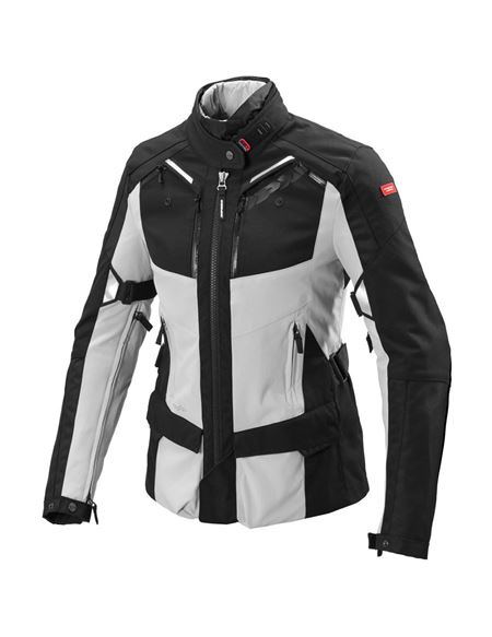 Chaqueta spidi 4season lady h2out gris-negro - 0460713238
