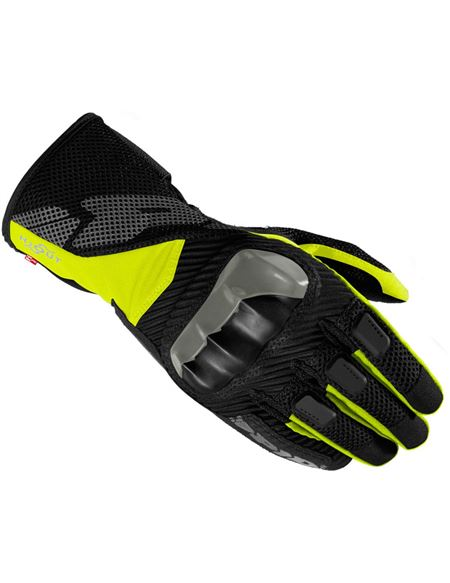 Guantes spidi rainshield h2out negro/fluor