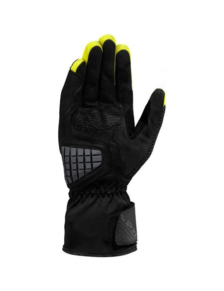 Guantes spidi rainshield h2out negro/fluor - 0460712950