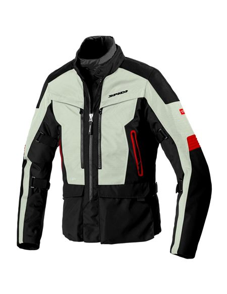 Chaqueta spidi voyager 4 h2out negro/gris - SPIDI-VOYAGER_4_H2OUT