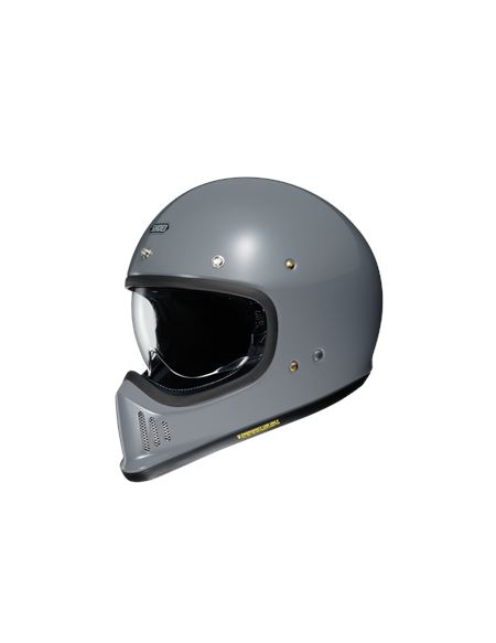 Casco shoei ex-zero gris brillo - CASCO EX-ZERO GRIS 3