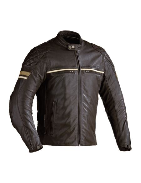 Chaqueta ixon motors marron