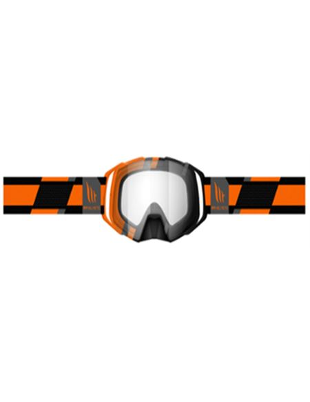 Gafas motocross mt evo stripes naranja - 180402317