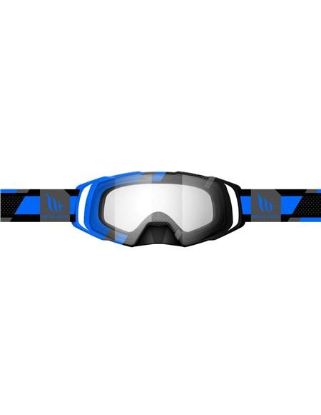 Gafas motocross mt evo stripes azul - 180402313