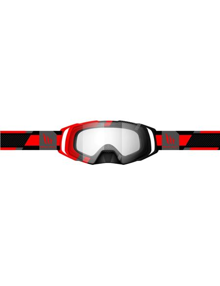 Gafas motocross mt evo stripes rojo - 180402315
