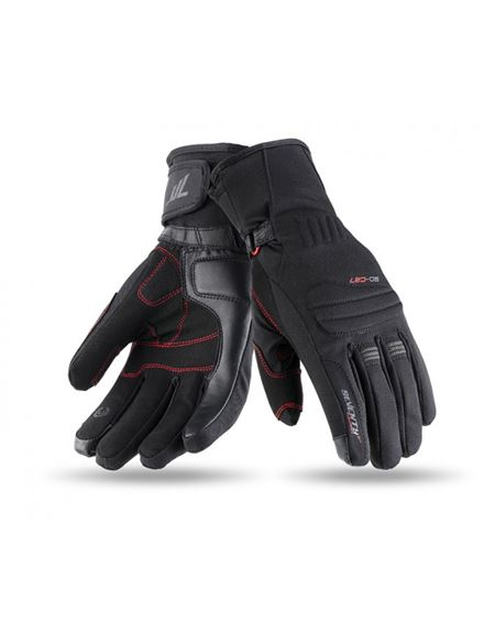 Guantes seventy sd-c27 mujer touring negro - 0460713563#NEGRO(1)