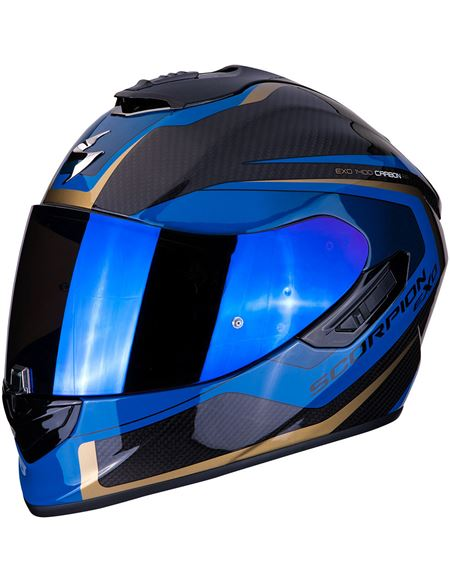 Casco scorpion exo-1400 air carbon esprit negro-az - 0460713598#CARBONO-AZUL(1)
