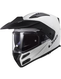 Casco ls2 ff324 metro blanco brillo