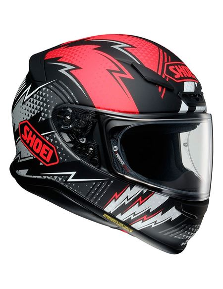 Casco shoei nxr variable tc1 - 0460713599#NEGRO-ROJO-BLANCO