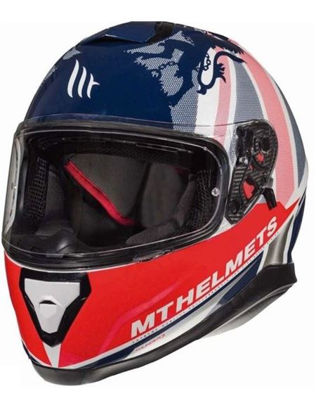 Casco mt thunder 3 kingdom a1 blanco - 04607124334#KINGDOM(1)