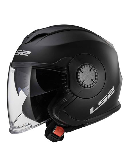 Casco ls2 jet verso of570 - 0460705731#NEGRO-MATE