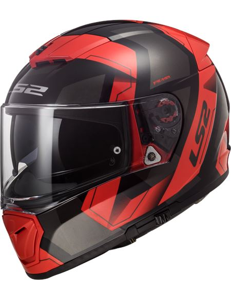 Casco ls2 ff390 breaker physics negro rojo - PHYSICS