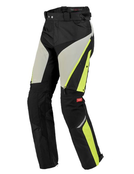 Pantalon spidi 4 season h2out gris-fluor - U76-486-1