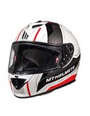 Casco mt rapide duel blanco-rojo - RAPIDEDUELD1_GLOSSPEARLRED_E_COPY
