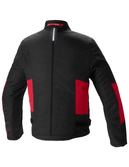 Chaqueta spidi solar h2out negro-rojo - SPIDI-SOLAR_H2OUT_RED