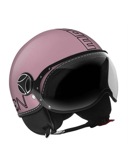 Casco momo fighter glam pink