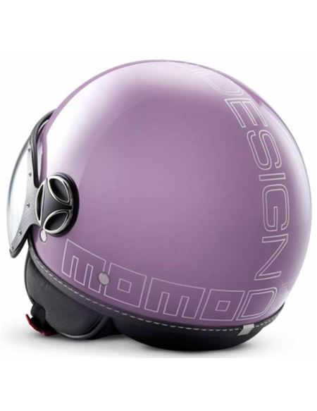 Casco momo fighter glam violet