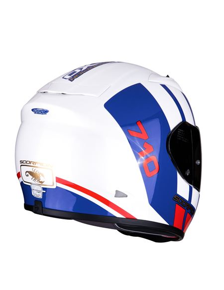 Casco scorpion exo-710 air gt blanco-azul-rojo - 04607125009#BLANCO-AZUL-ROJO(1)