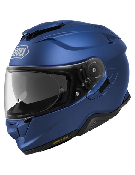 Casco shoei gt-air 2 azul mate