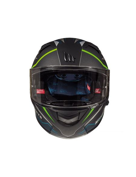 Casco mt kre sv intrepid c1 verde fluor mate - CASCO-MT-KRE-SV-INTREPID-C1-MATE-VERDE