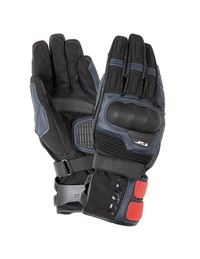 Guantes tur g-one azul oscuro - negro